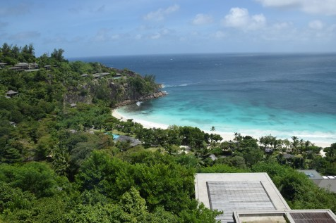 Four Seasons Seychelles - Bay view from the lobby
