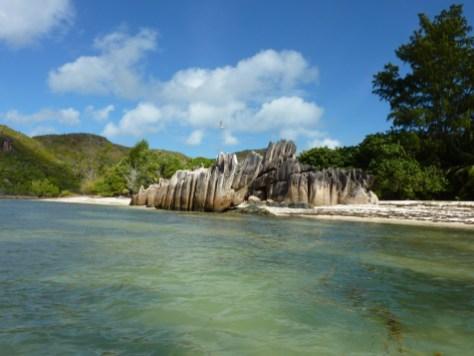 Seychelles - Ile Curieuse north beach
