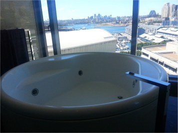The Darling Sydney - Adored Suite view from bath
