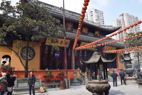 Tour of China - Shanghai Puxi, Jade Buddha Temple