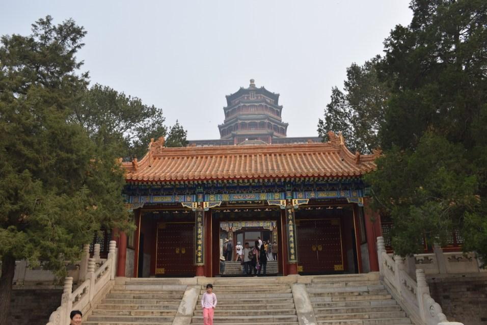 Tour of China - Beijing Summer Palace gate