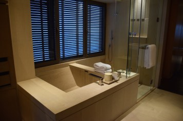Park Hyatt Beijing - Park Deluxe King Room spa-inspired tube