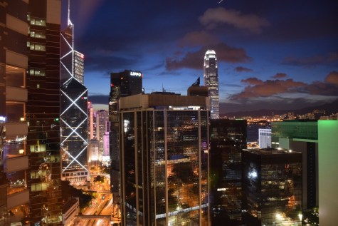 Hong Kong - Bank of China Tower from The Upper House