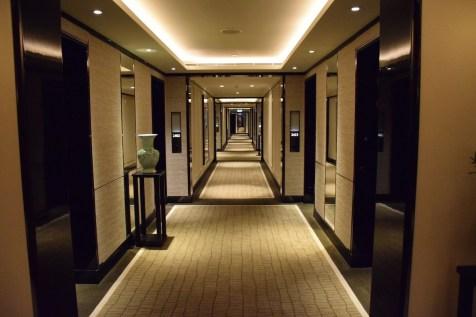 Peninsula Hong Kong - New design corridors