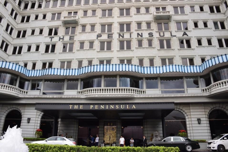 Peninsula Hong Kong - Front facade