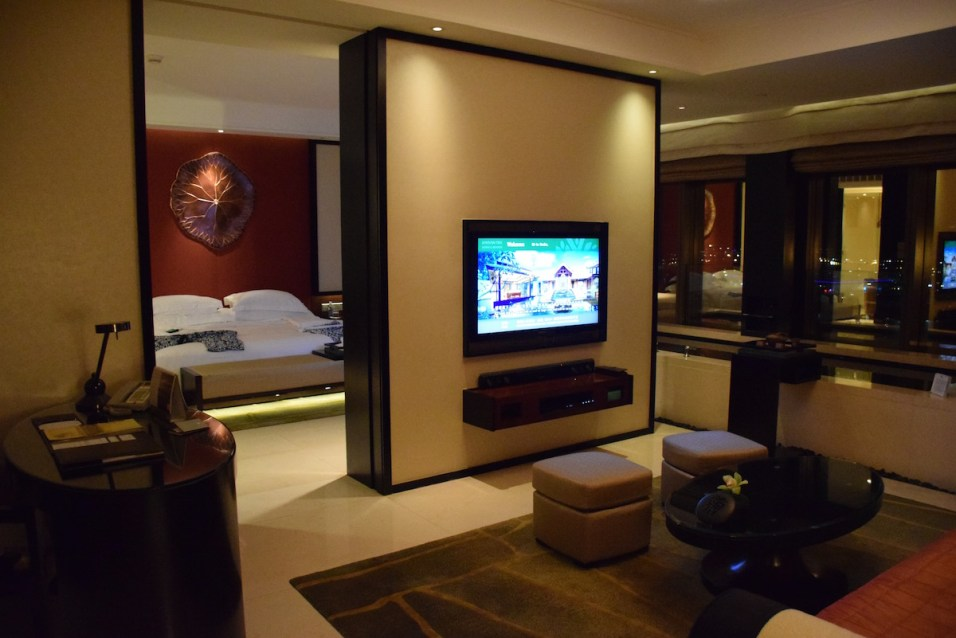 Banyan Tree Macau - Grand Cotai Suite living room