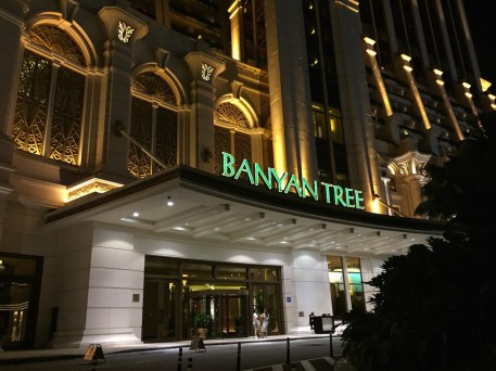 Banyan Tree Macau - Front entrance