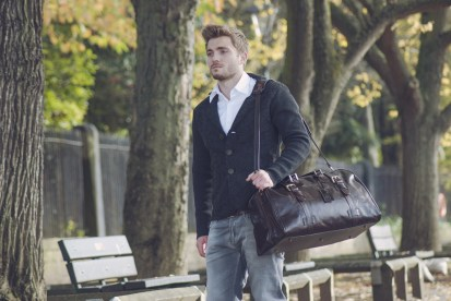 The Flero men luggage - Picture by Maxwell Scott Bags