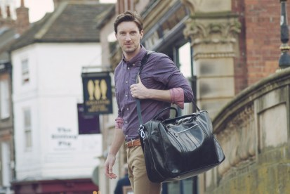 The Maurizio men luggage - Picture by Maxwell Scott Bags