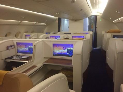 Thai Airways A380 Royal First Class - First Class cabin