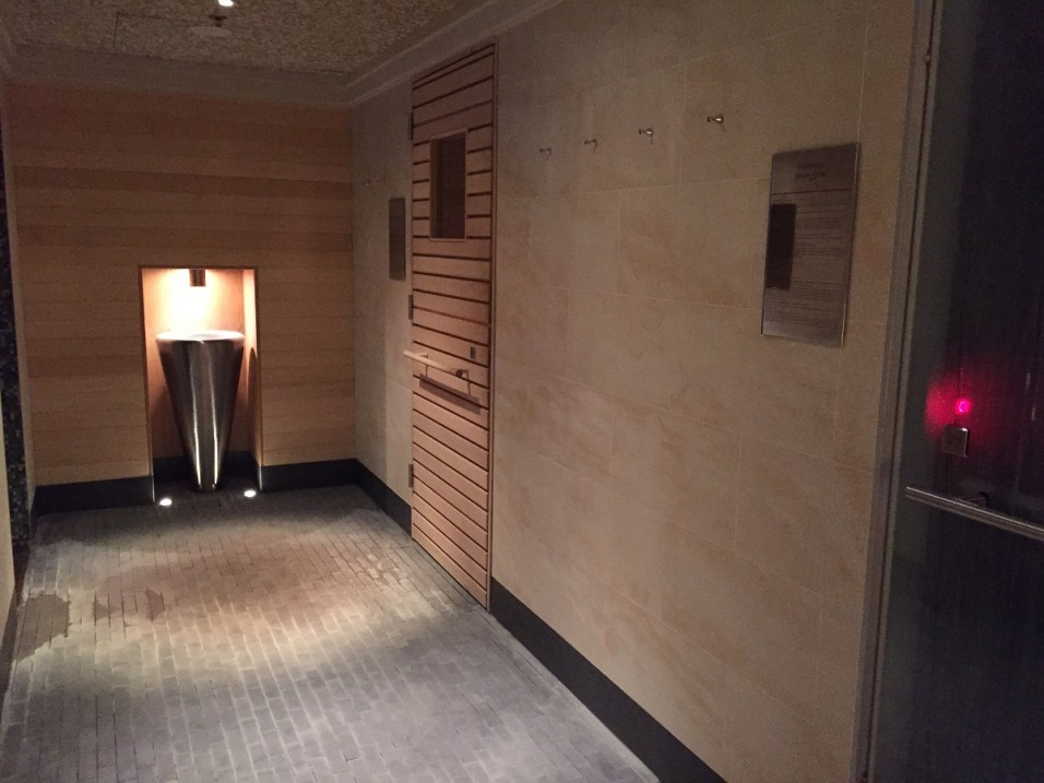 Peninsula Paris Spa - Thermal Suite with sauna and hammam
