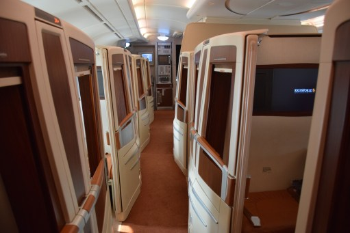 Singapore Airlines A380 Suites - Cabin 2