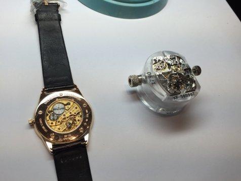 Vacheron Constantin Mansion Shanghai - Patrimony Extra-Flat watch and Malte Tourbillon movement CAL1790
