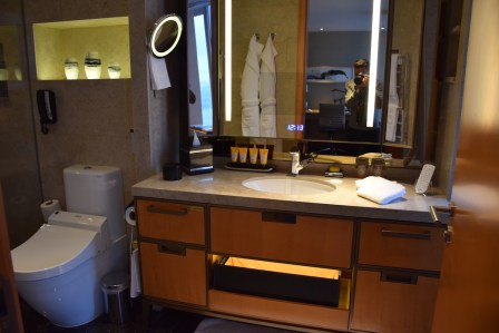 Deluxe City View room - Bathroom