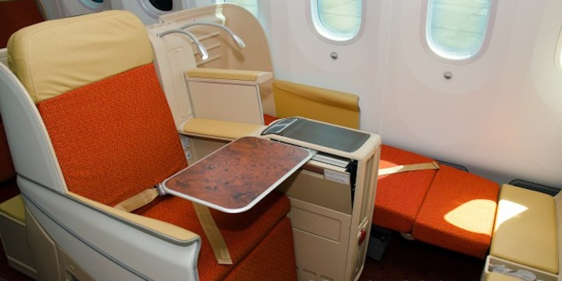 Air India Executive Class - Seats 3A and 3B