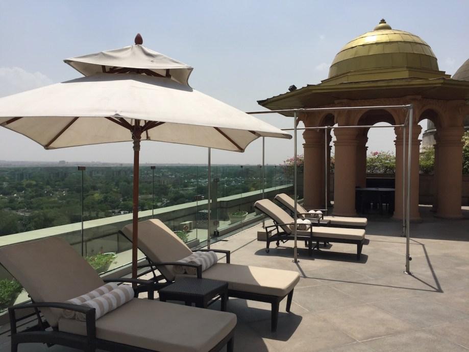 Leela Palace New Delhi - Rooftop views
