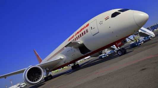 Air India Dreamliner aircraft