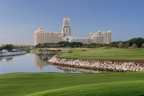 View from Al Hamra Golf Course