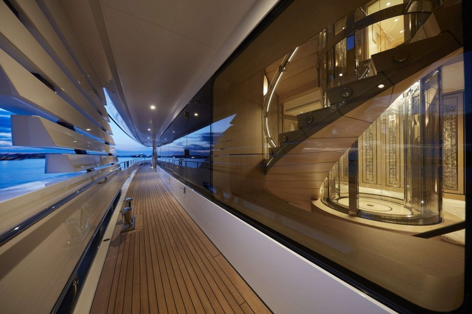 Joy yacht deck - @feadship picture