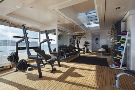 Fitness room - @feadship picture