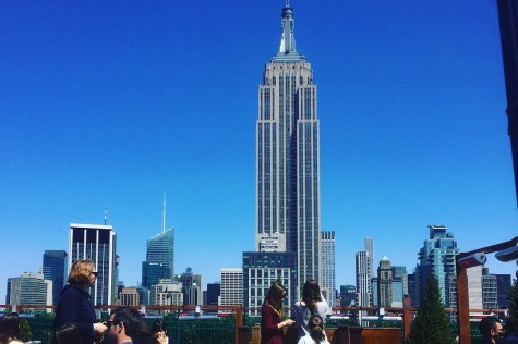 View from 230 Fifth rooftop bar