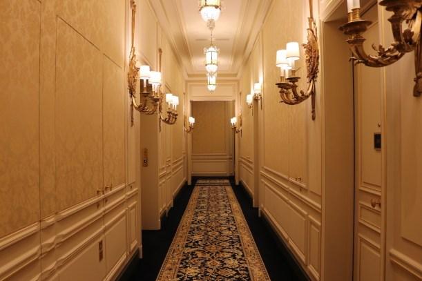 First floor corridors