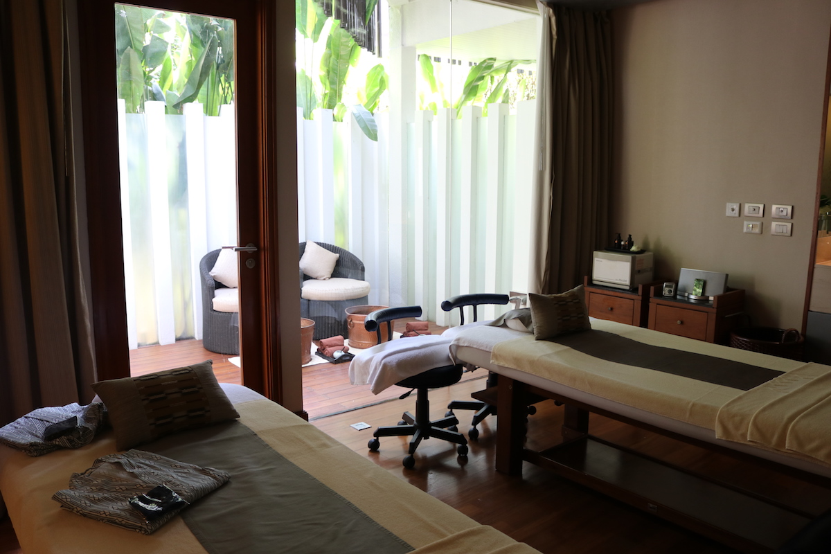 The Sukhothai - Spa Botanica VIP treatment room