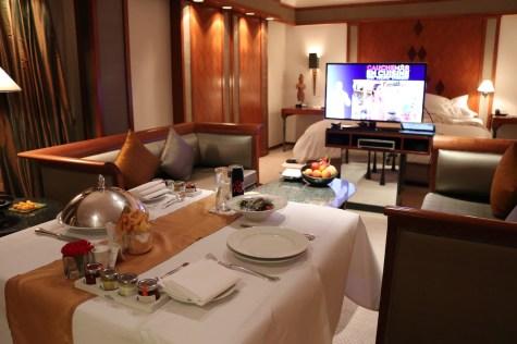 The Sukhothai - Executive Suite room service