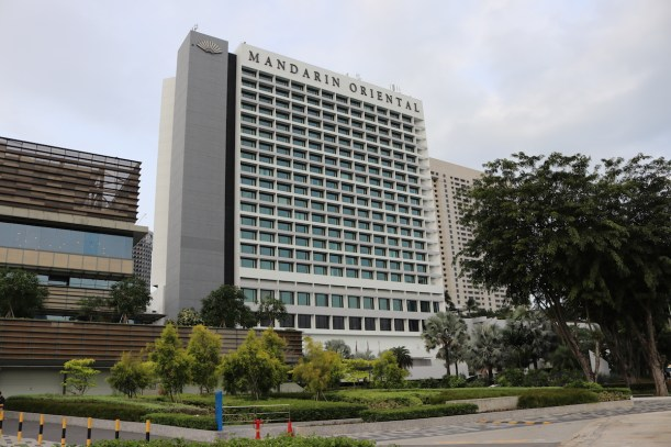 Mandarin Oriental Singapore building