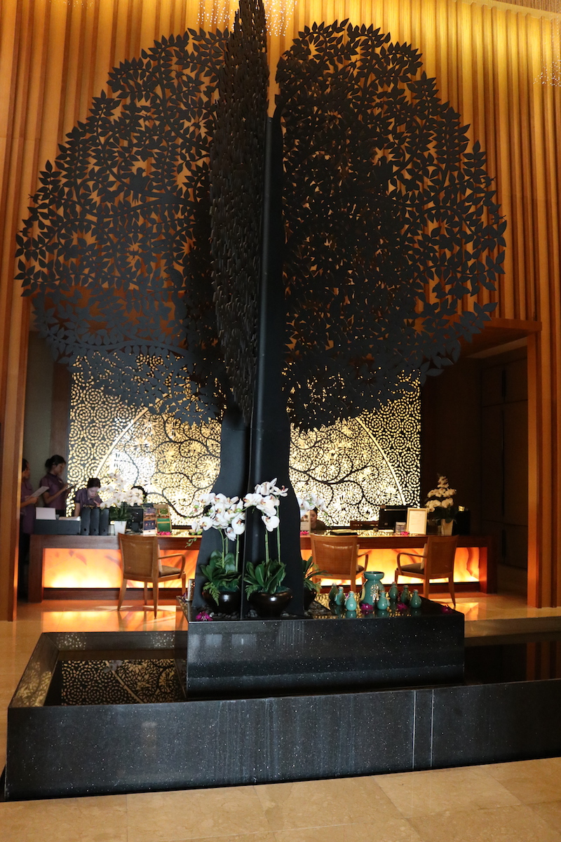 Banyan Tree Spa lobby