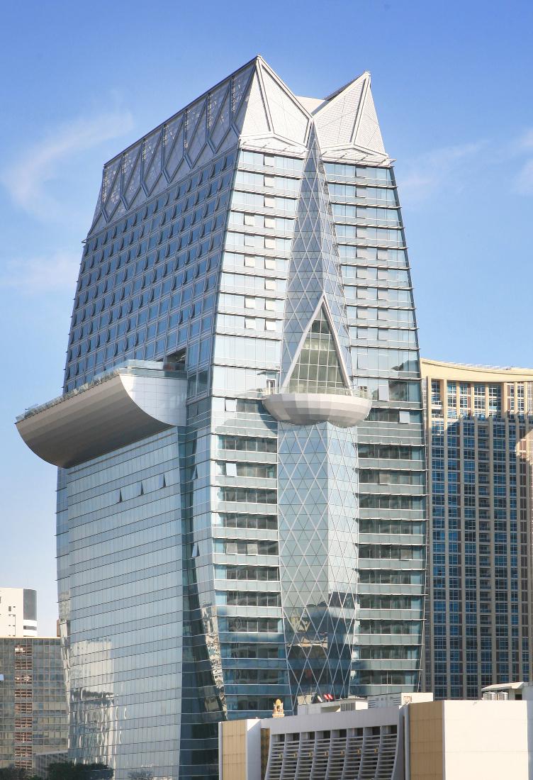 The Okura Prestige Bangkok building