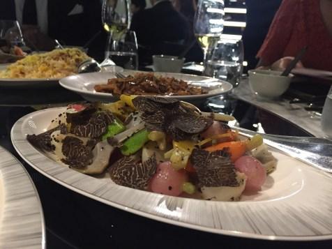 Alain Ducasse 8-course dinner - Fourth starters
