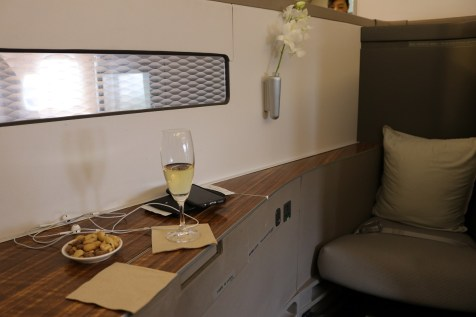 Large space in First Class Suite 1D