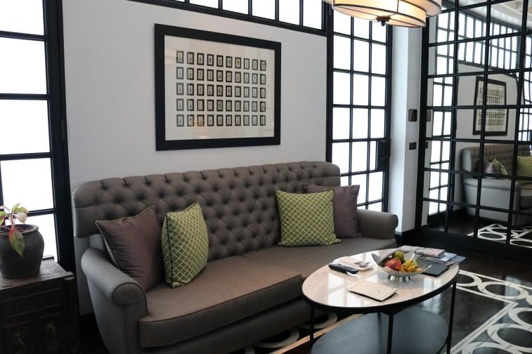 Siam Suite living room - The Siam Hotel