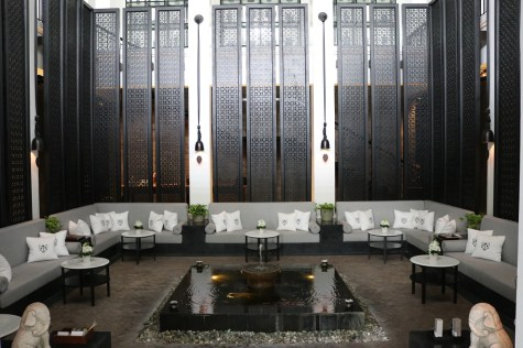 Opium Spa waiting lounge - The Siam Hotel