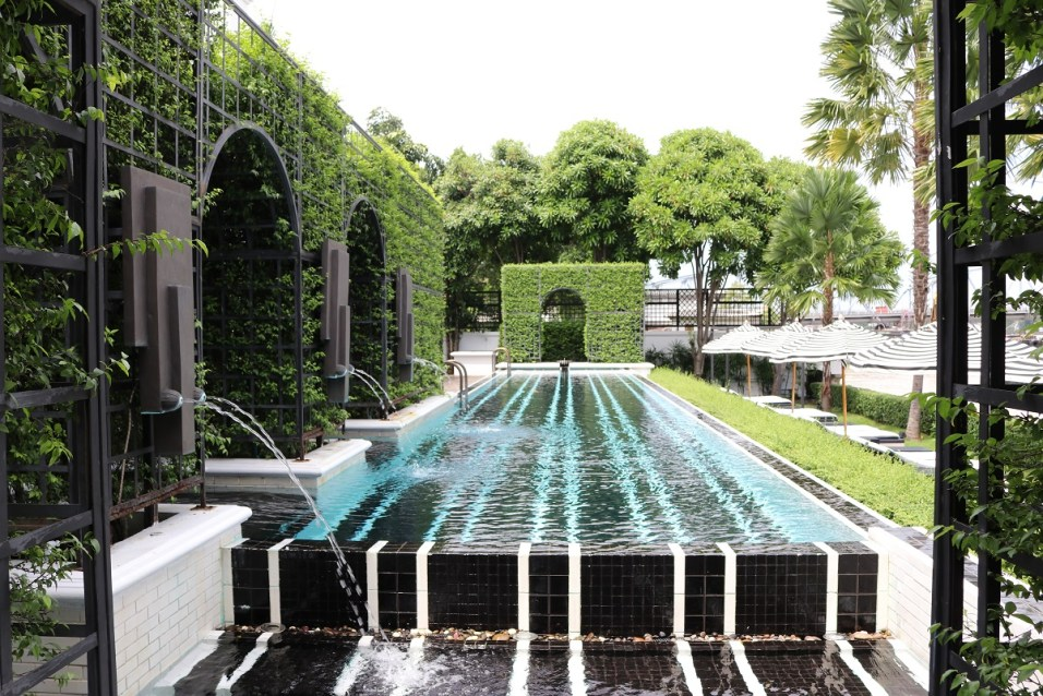 Outdoor Pool - The Siam Hotel