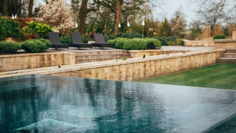 Lucknam Park Hotel outdoor pool