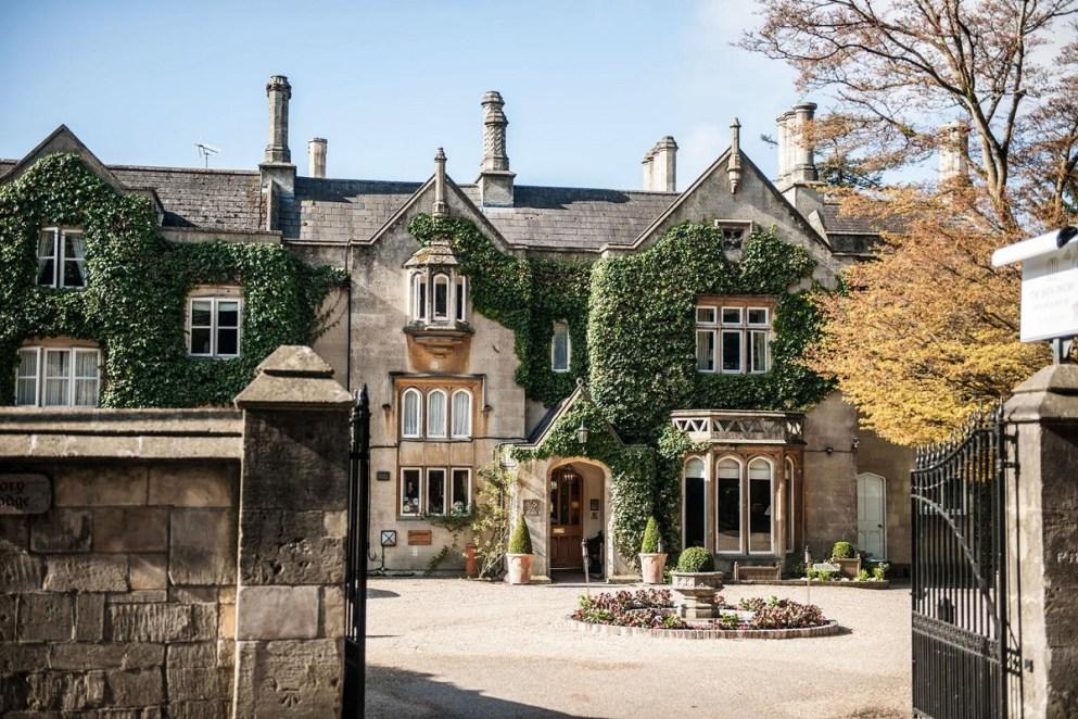Priory Hotel & Spa entrance