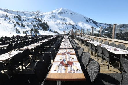 Le Bouc Blanc mountain restaurant