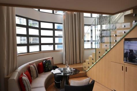 Duplex Suite living room