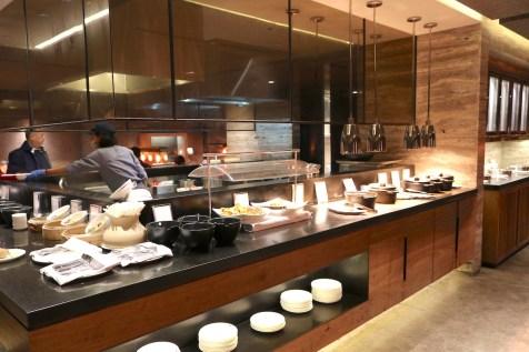 Business Class lounge restaurant