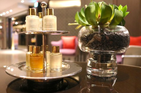 Essential oils selection for body massage