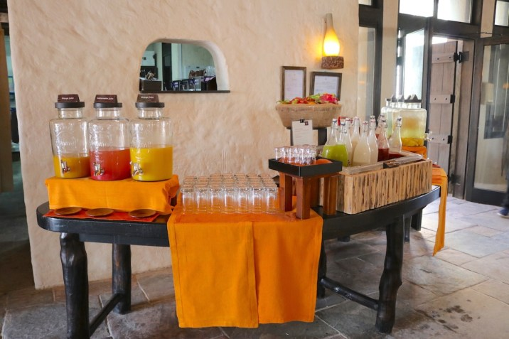 Breakfast - Juice selection