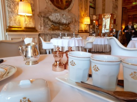 Brunch at Hotel Le Meurice