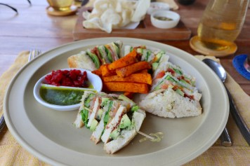 Dining On The Hill - Six Senses club sandwich