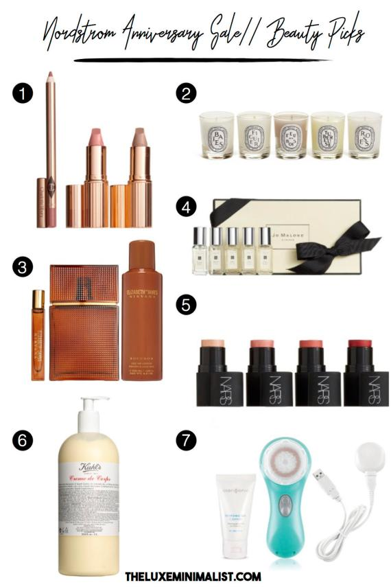 Nordstrom Anniversary Sale 2017 Beauty
