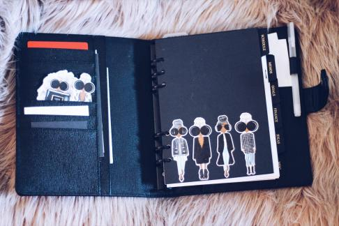 Cloth & Paper Agenda How to Stay Organized
