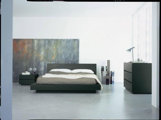 black and white minimalist bedroom ideas Black and White Minimalist Bedroom Decorating Ideas, Self Dark Beds by Bed Habits - Home Design