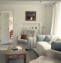 Traditional Cottage Minimalist Interior, Limetree Cottage