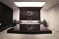 Hybrid Office Conference Table and Desk Futuristic Design ...